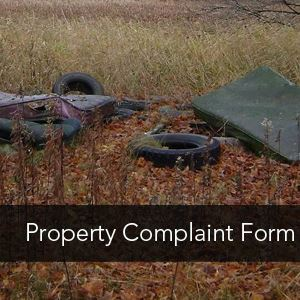 Property Complaint Form