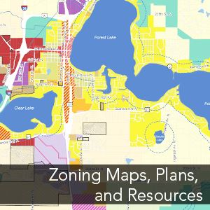 forest lake mn map Zoning Forest Lake Mn forest lake mn map